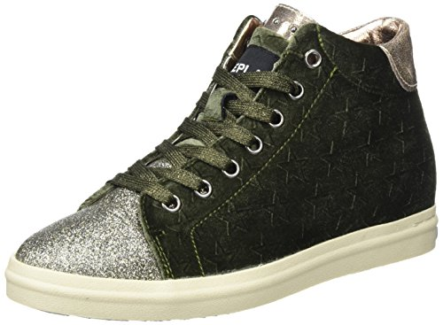 REPLAY Kenda, Sneaker a Collo Alto Donna Verde (Mil Grn)