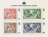 2010der Kings Briefmarken Miniatur-Bogen Nr. 71–Royal Mail Briefmarken