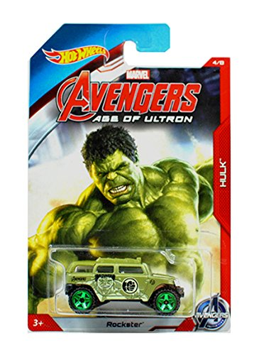 Hot Wheels Exclusive - Avengers Age of Ultron - Hulk - Rockster by Hot Wheels