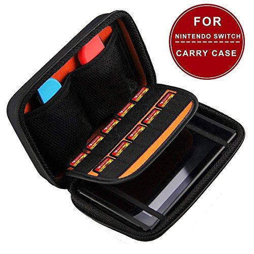 Nintendo Switch Tasche Case mit 10 Games Holder