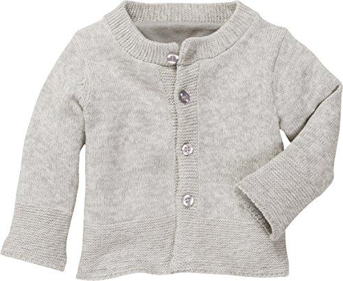 Schnizler Unisex Baby Erstlingsstrickjacke Strickjacke, Beige (Natur 2), 56