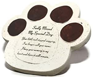 My Special Dog Paw Pet Graveside Ornament