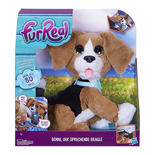 furreal torch Hasbro FurReal Friends B9070100 - Benni der sprechende Beagle, Elektronisches Haustier