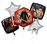 Anagram 3162501 - Folienballon Bouquet, Disney Star Wars Episode VII, 5 teilig