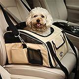 Treat Me Mascotas Transportin Bolsa de Transportin perro gato mascota para Viajar llevar en coche o de mano crudo L