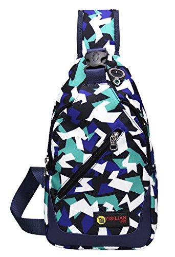 Longzibog Dual verstellbare Schultergurte und Hängeschlaufenband 2016 Neue Maedchen Rucksack Schulranzen Mehrfarbig 3