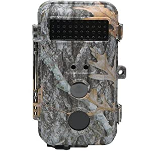 DIGITNOW! Trail Camera 16MP HD Waterproof Game Camera, Wildlife Hunting Scouting Surveillance Camera with 40Pcs IR LED Infrared Night Vision Up to 65FT/20M