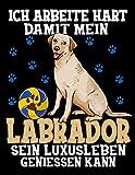 Ich Arbeite Hart Damit Mein Labrador Sein Luxusleben Geniessen Kann: Lustiger Labrador Retriever Hunde Kalender 2020 Mit Jahresplaner, Tagesplaner, ... Lustigen Rätzeln und Platz Für Eigene Notizen