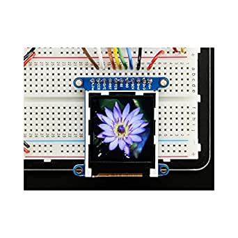 """Adafruit 1.44"""" Color TFT LCD Display with MicroSD Card breakout"""
