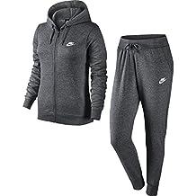 0f256e39d98f6 Nike W NSW TRK Suit FLC Veste Femme