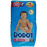 Dodot - Pañales con absorción, talla 5, para 11-17 kg, 58 unidades