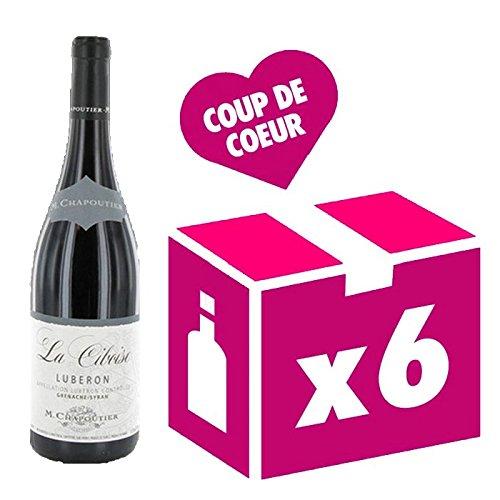 Chapoutier - Lubéron - Carton 6 Bts