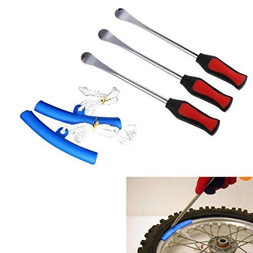 3x Reifenmontierhebel Reifen Montiereisen Motorrad Fahrrad Tire Lever Tool Spoon