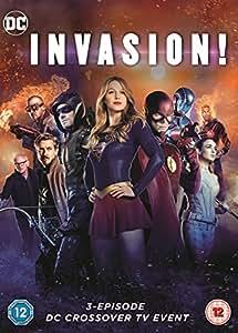 Invasion Dc Crossover Dvd Amazon Co Uk Grant Gustin