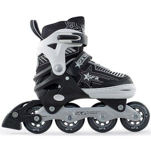sfr-pulsar-adjustable-recreational-inline-skates-silver-uk-3-6-large