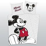 Herding Bettwäsche Disney Mickey Mouse 140 x 200 cm, 65 x 65 cm
