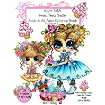 Sherri Baldy My-Besties Sweet Treats Adult coloring book