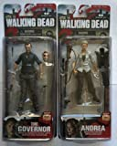 The Walking Dead Series 4 - The Governor and Andrea Set of 2 Action Figures. by Unknown