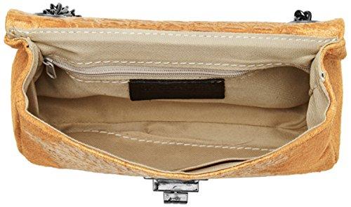 Chicca Borse Damen 10029 Shopper, 20x11x6.5 cm Braun (Cuoio)