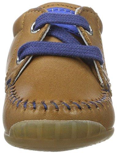 Falcotto Baby Jungen 1551 Sneakers Braun (Leder)