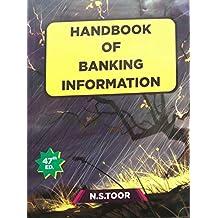 Handbook Of Banking Information 47th edition (October 2018)