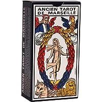 Jeu de Cartes : Tarot de Marseille (78 Cartes + Livret) [Importato dalla Francia]