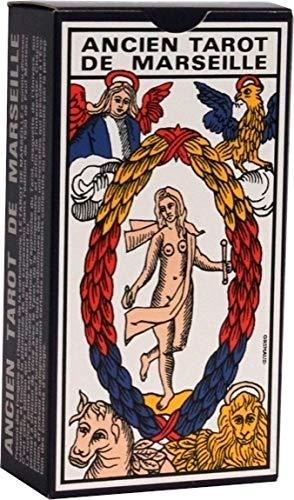 Jeu de cartes : Tarot de Marseille (78 cartes + Livret)