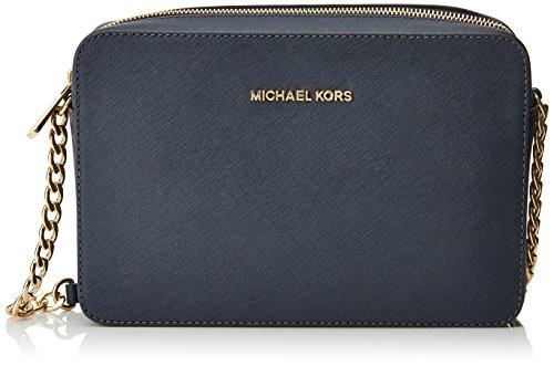 Michael Kors Crossbodies - Borse a tracolla Donna, Azul (Admiral), 1.9x10.199999999999999x22.9 cm (W x H L)