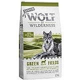 PaylesswithSS Wolf of Wilderness Trockenfutter für Hunde, 12 kg + 2 kg extra gratis (Verschiedene Geschmacksrichtungen)