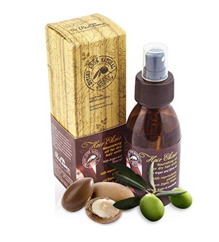 100% NATURAL Hair Elixir/Elixir pour Pointes Sèches Cheveux De Cheveux 100% Naturel 100 ml