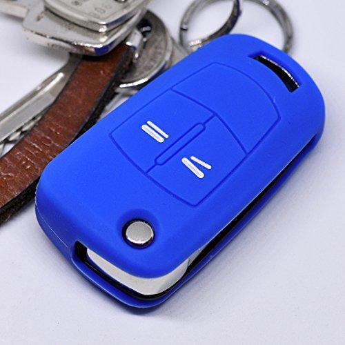 lle Auto Schlüssel für Opel Astra Vectra Corsa Zafira Signum bis 2008 Klappschlüssel/Farbe: Dunkelblau ()