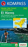 Kompass Karten, El Hierro (Carte de Randon, Band 242) -