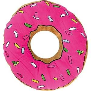Close Up The Simpsons Kissen/Süßes Kuschel-Donutkissen in rosa,braun