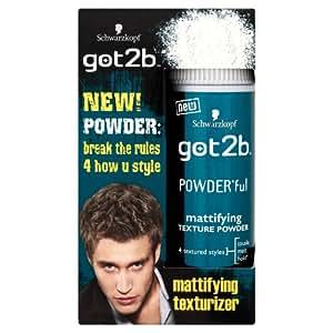 Schwarzkopf got2b POWDER'ful Mattifying Texture Powder 10g