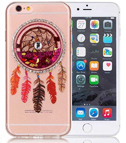 nnopbeclik-iphone-6-6s-silikon-hulle-transparent-drucken-blume-campanula-3d-fliessende-flussigkeit-b