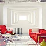murando - Fototapete 350x256 cm - Vlies Tapete - Moderne Wanddeko - Design Tapete - Wandtapete - Wand Dekoration - Tunnel 3D a-A-0124-a-b