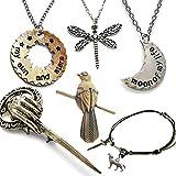 Game Of Thrones 6 StŸck Geschenkpackung. Halsketten, ArmbŠnder und Broschen