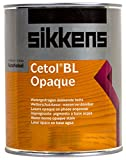 Sikkens Cetol BL Opaque weiss 1 L Wetterschutzlasur deckende Holzlasur