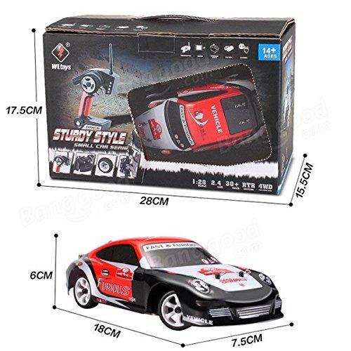 RC Auto kaufen Drift Car Bild 6: Lanlan auto fernsteuerung 2 4G 4WD hochwertige geb rstete RC Auto Drift Auto*