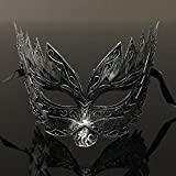 Silver Titan Mens Venetian Masquerade Mask By The Rubber Plantation TM