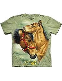 The Mountain Enfant Animalier Chevaux Des Prés T Shirt