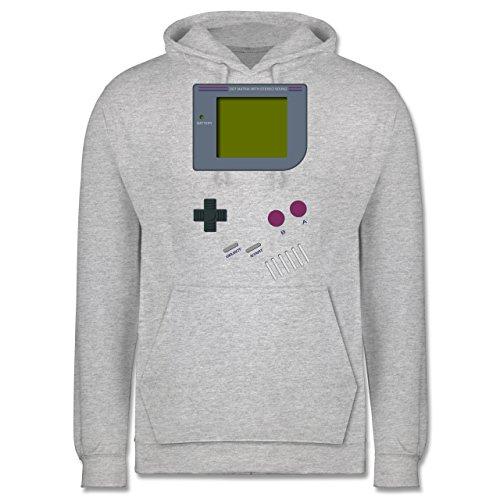 Nerds & Geeks - Gameboy - XL - Grau meliert - JH001 - Herren (Kostüm Game Boy)