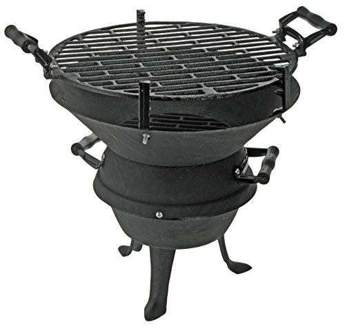 BBQ Collection Gußeisengrill Barbecue 35x35 cm