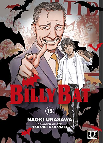 Billy Bat, Tome 15 : par Naoki Urasawa, Takashi Nagasaki