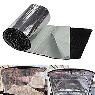Allright 2,5m² Alubutyl Dämmmatte Auto Selbstklebend Anti-Dröhn Kein Bitumen Matte 50 x 500 cm Auto Tür HiFi