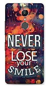 Gionee S6S Designer Hard-Plastic Phone Cover from Print Opera -Never lose your smile