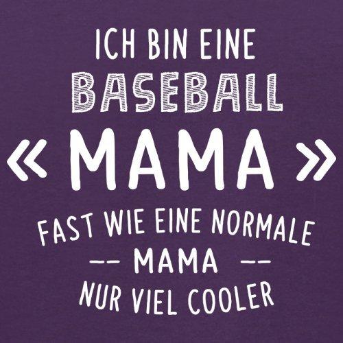 Ich bin eine Baseball Mama - Herren T-Shirt - 13 Farben Lila
