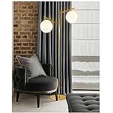Lampadaires Moderne simple éclairage décoratif lampadaires personnalisé canapé bureau boule salon vertical grande lampe de table Protection des yeux LampadaireA+