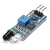 TOOGOO(R) Infrarot-Lichtschranken-Modul Photoelektrische Hindernis Verhinderung Infrarot-Sensor