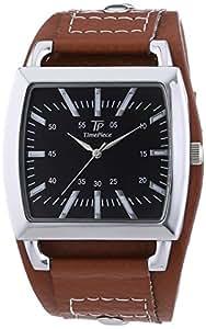 TP Time Piece - TPGS-30261-13M - Montre Homme - Quartz - Analogique - Bracelet Cuir Marron